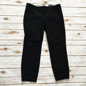 J. CREW Black Minnie Ankle dress Pants